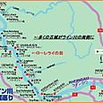 ライン川とその地図